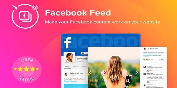 Elfsight Facebook Feed - лента Facebook для WordPress
