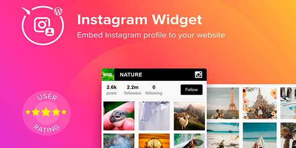 Elfsight Instagram Widget - виджет Instagram на WordPress