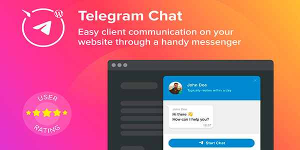 Elfsight Telegram Chat - плагин чата Telegram на WordPress