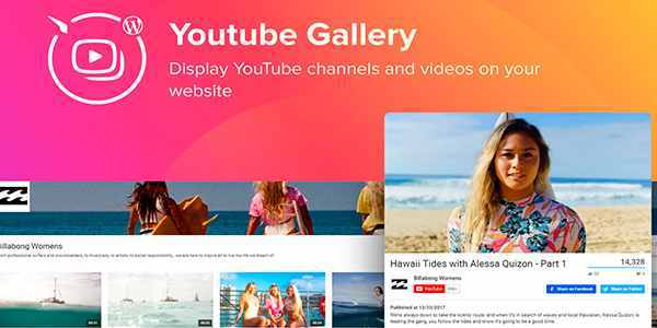 Elfsight YouTube Gallery - галерея YouTube на WordPress