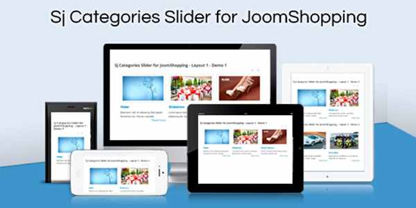 SJ Categories Slider for JoomShopping - модуль для Joomla