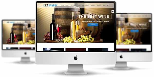 LT Winery - шаблон для винного магазина