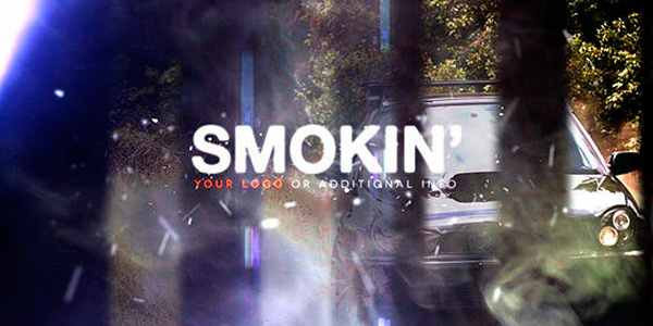 Smokin - шаблон на After Effects