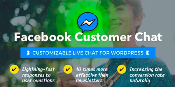 Facebook Customer Chat - чат для WordPress
