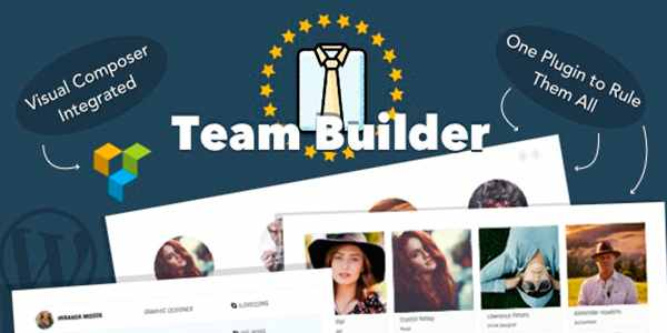 Team Builder - для презентации команды на WordPress